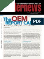 Dealer News OEM ReportCard