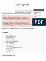 GUID Partition Table (Español) - ArchWiki