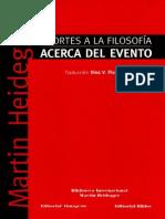 Beiträge zur Philosophie - Vom Ereignis