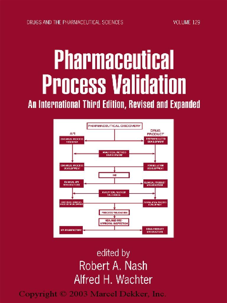 Pharmaceutical process validationpdf verification and validation pharmaceutical process validationpdf verification and validation pharmaceutical drug fandeluxe Choice Image