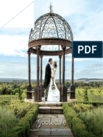 Goosedale Wedding Brochure