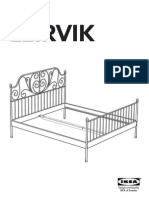 Leirvik Bed Assembly Instructions