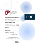 Informe de Lab. N03 - Rectificador Bifasico Con Dos Diodos