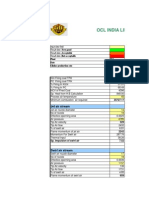 Burner Calculation OCL