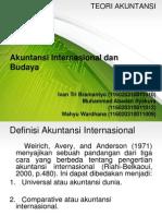 Akuntansi Internasional Dan Budaya Presentasi PRESENTASI FIX