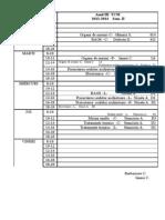 Orar III TCM sem II- 2013-2014
