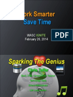 Ignite Feb 26 2014 Increase Communication Save Time Presentation