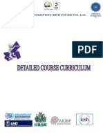 Safety Course Curriculum