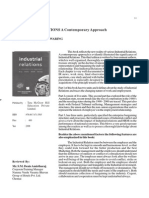 IndustrialINDUSTRIAL RELATIONS, A Contemporary Approach Relations, A Contemporary Approach