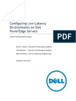 Configuring Dell PowerEdge Servers for Low Latency 12132010 Final
