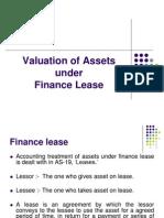 805 CC101 AFM DD 2 Valuation of Assets Under Lease