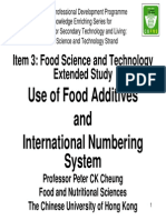 5b 01 Food Additives Peter