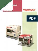 Yanmar YDG Genset