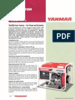 Yanmar YDG Genset New