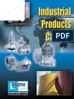 Groth Corporation Industrial Catalog (PVRV Vacuum)