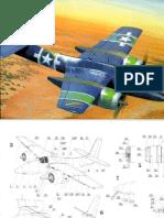 Model Kartonowy - Fly Model 002 - F7F 3P Tigercat