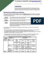 Industry Key Performance Indicators