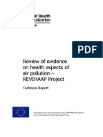 REVIHAAP Final Technical Report Final Version WHO 2013