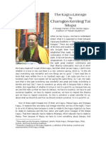 The Kagyu Lineage