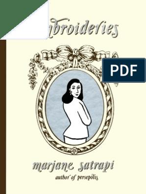 Marjane Satrapi Embroideries Copy