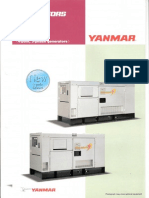 Yanmar YEG 4 Pole Genset