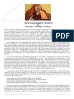 Understanding the Dharma