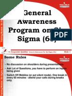 00 SixSigma Awareness Program for All Final