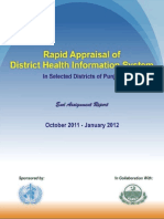 Rapid Appraisal of DHIS