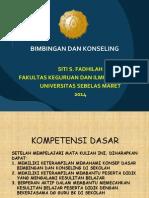 Bimbingan Dan Konseling 2014