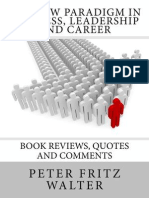 The New Paradigm in Business, Leadership and Career (17 Book Reviews)