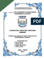 Vacuna Contra El Virus Papiloma Humano