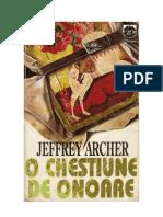 115763337 Jeffrey Archer O Chestiune de Onoare
