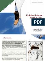 Kickstart Internal Audit in 2014 January 2014 41875