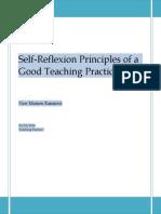 Moises Ramirez -Teaching Principles