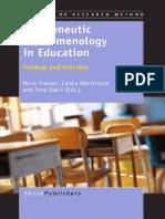 Friesen - Hermeneutic Phenomenology in Education