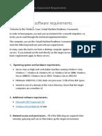WAVMRA Requirements