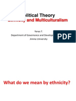 Ethnicity and Multiculturalism