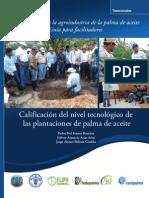 Guía de calificación del nivel tecnológico de plantaciones de palma de aceite