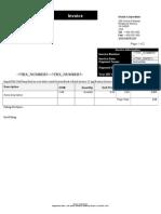 Invoice Batch Anatomty