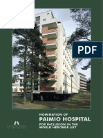 Nomination of Paimio Hospital
