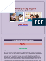 Let's Learn Speaking English