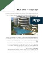 אסף טוכמאייר – פרויקט Blue