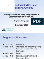 HKDSE Briefing for Ts on Eng Lang Exam_28Dec08