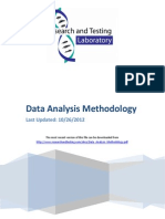 Data Analysis Methodology