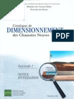 Catalogue de dimensionnement des chaussées neuves_(fascicule1)_CTTP
