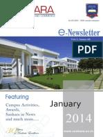 SANKARA E-Newsletter January-2014 Vol-1 Issue-5