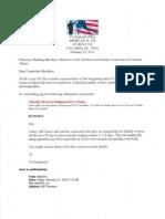 AFGE Letter US House and Senate VA Committees 2-25-14 Suspense of QRT