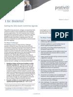 The Bulletin Vol 5 Issue 5 Setting 2014 Audit Committee Agenda Protiviti