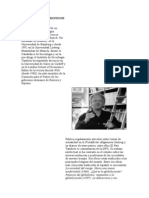 Semblanza Del Profesor Ulrich Beck