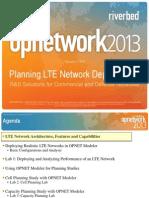 OpNET - LTE